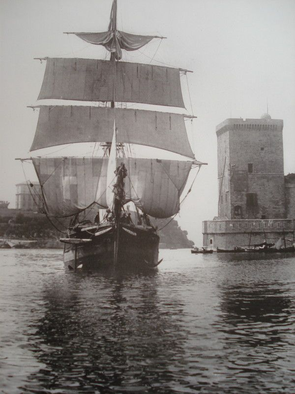 Le vieux port en 1906